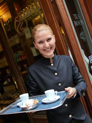 Willkommen im Caffé Doria.