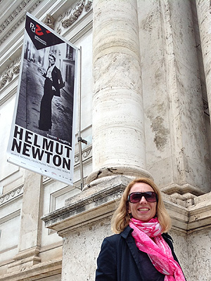 200 Fotos von Helmut Newton sind im Palazzo del Esposizione bis Juli ausgestellt.