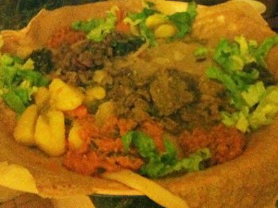 Eritreisch essen gehen