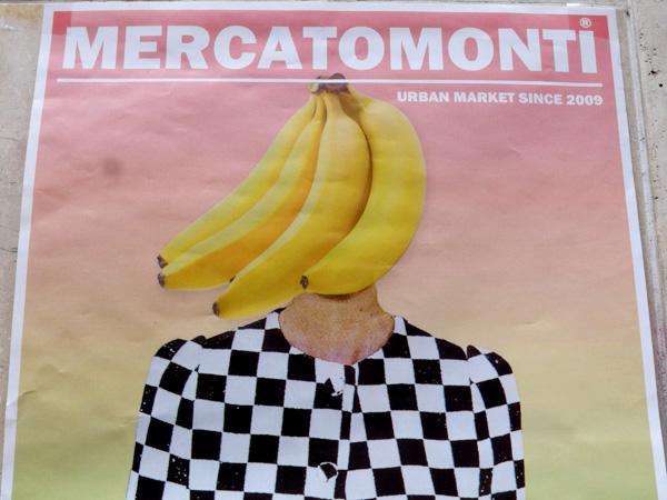 Bietet Kreatives und Individuelles: Der Mercatomonti im Stadtteil Monti.