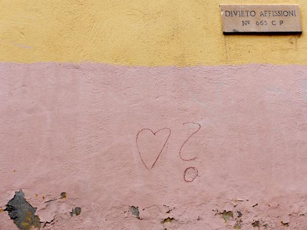 Fragliche Liebe in Trastevere.