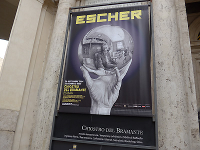 Escher - Rockwell - Cartier Bresson in Rom