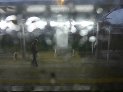 Regenankunft Rom