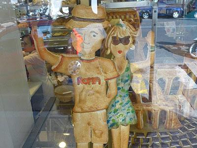 Brotkunst in Rom bei der Bäckerei und Konditorei Panella