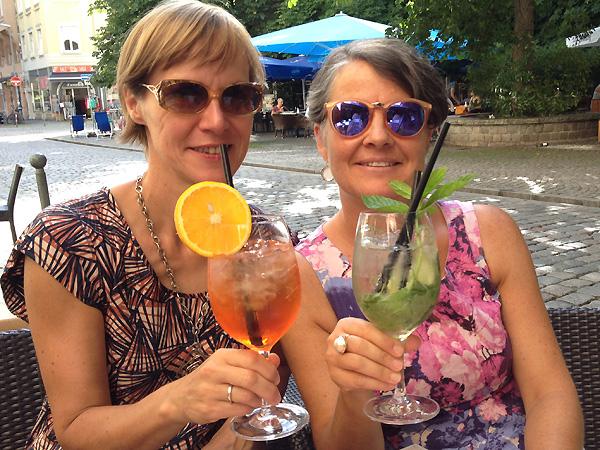 Andrea und Martina haben am Aperitivo-Führer für Rom mitgeschrieben.