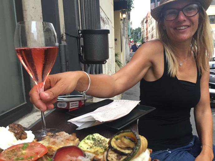 Tour-Guide Annett bietet unter dem Namen Deutsche Römerin Touren in Rom an